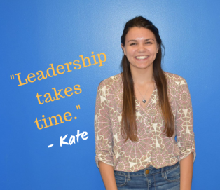Kate - Leadership Takes Time